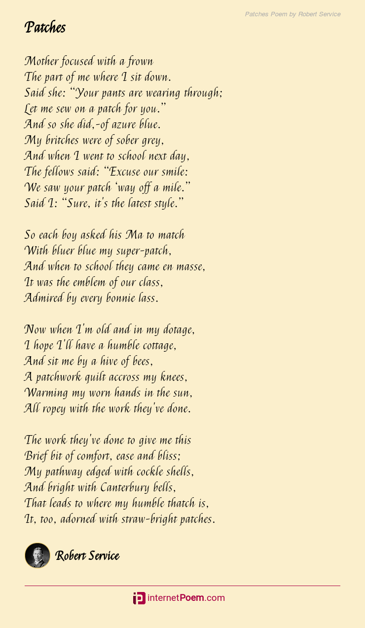 The day i saw you poem