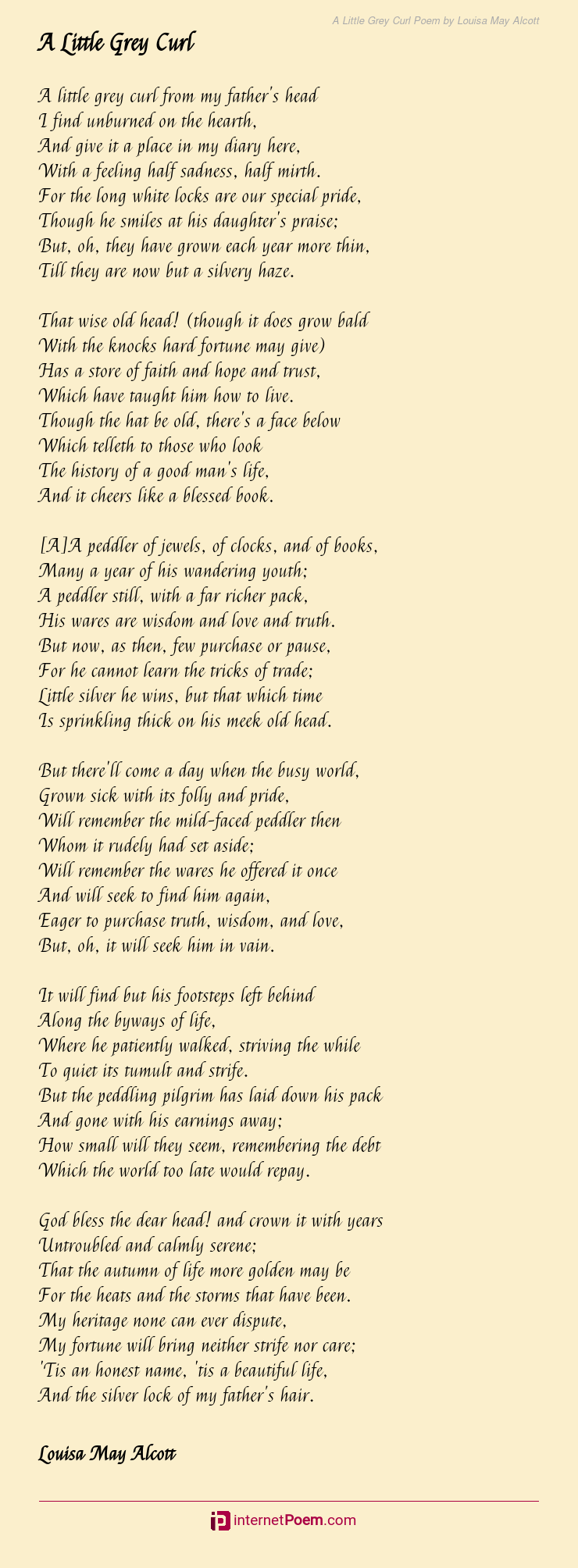 A Louisa May Alcott Diary