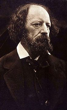 Poet Alfred Lord Tennyson