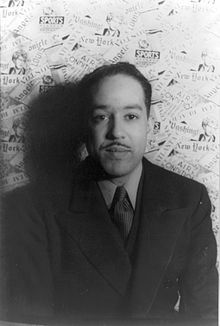 Poet Langston Hughes